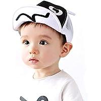 Children Hat Baseball Cap Sports Outdoor Mesh Hats Adjustable Soft Brim Sun Hat (Color : White)