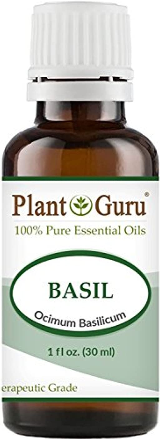 問い合わせ騒々しいよろしくBasil Essential Oil. 30 ml (1 oz) 100% Pure, Undiluted, Therapeutic Grade. by Plant Guru