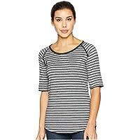 (コロンビア) Columbia レディース トップス Tシャツ Winter Adventure(TM) Short Sleeve Stripe Tee [並行輸入品]