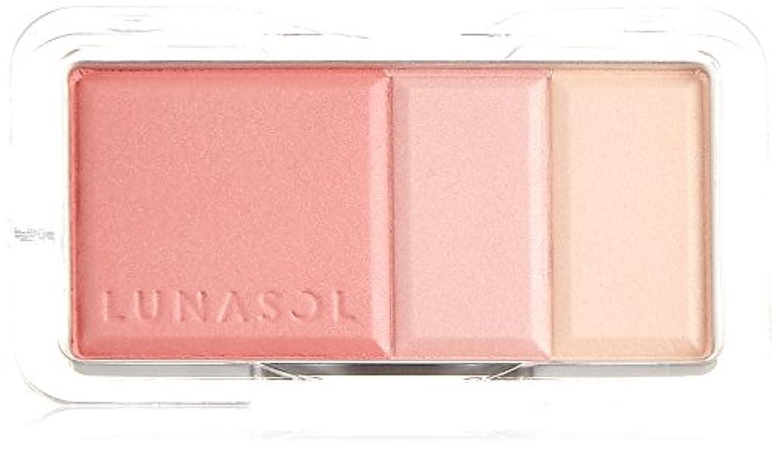玉ねぎ渦喜んでルナソル カラーリングソフトチークス 02Rose Pink チーク