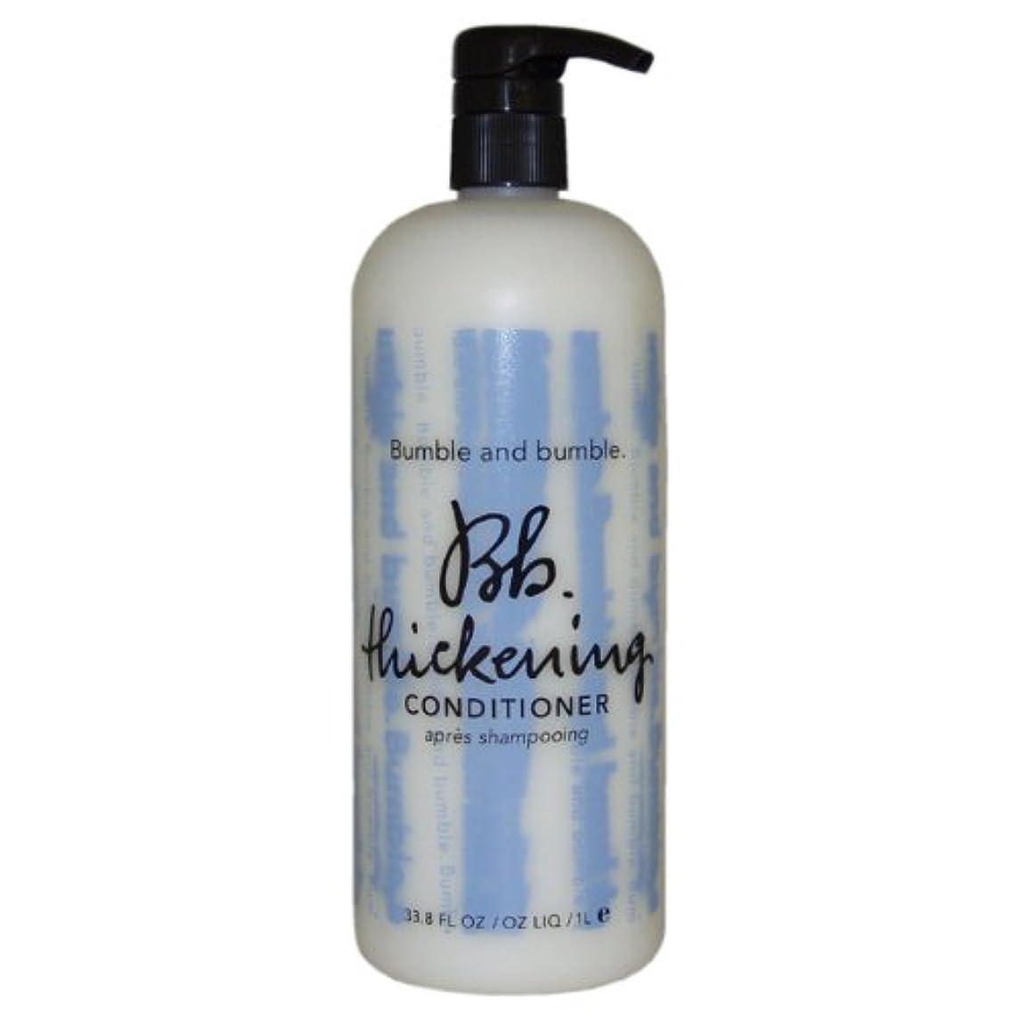 イソギンチャク未亡人ペンダントバンブル&バンブル 髪にコシを与えるコンディショナー 1lt (並行輸入品)