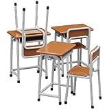1/12 フィギュアアクセサリーシリーズ 学校の 机と椅子 プラモデル FA01
