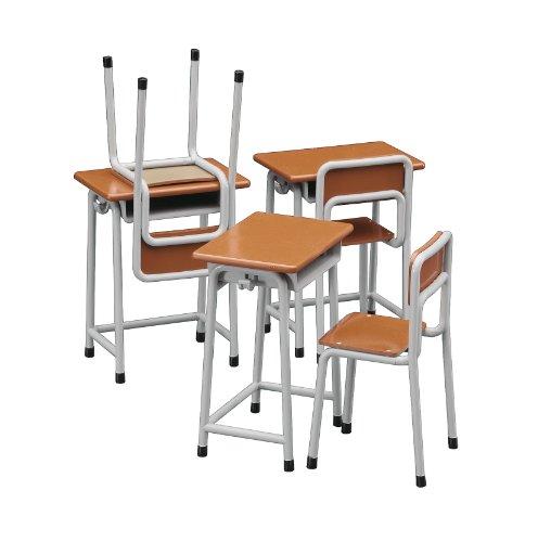 ハセガワ 1/12 フィギュアアクセサリーシリーズ 学校の 机と椅子 プラモデル FA01...