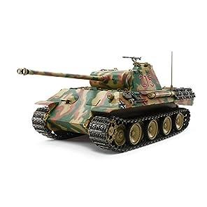 タミヤ 1/25 RCタンクシリーズ No.5 ドイツ戦車 パンサーA (専用プロポ付き) 56605