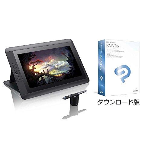 ワコム 液晶ペンタブレット 13.3フルHD液晶 Cintiq 13HD comicモデル CLIP STUDIO EX【1年ライセンス付】TDTK-1301/K0