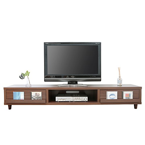 RoomClip商品情報 - LOWYA (ロウヤ) テレビ台 テレビボード 木製 ディスプレイ収納 ~52型 幅180cm ウォルナット おしゃれ 新生活