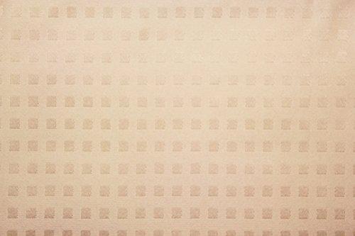 【完全遮光】【断熱】【防音】普通の1級遮光と比較にならない!本当に真っ暗! 窓から入ってくる熱気を防いでエアコンの効き目UP↑↑ 飽きの来ない格子柄! 断熱・完全遮光コーティングカーテン【センチュリオン】 (幅100×丈178cm 2枚組, アイボリー)