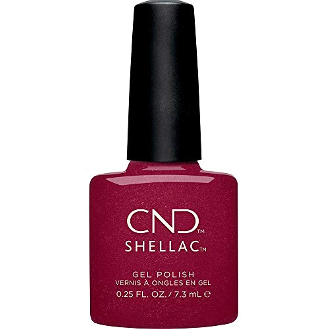 計算する他に比較CND Shellac - Crystal Alchemy Winter 2019 Collection - Rebellious Ruby - 0.25oz / 7.3ml