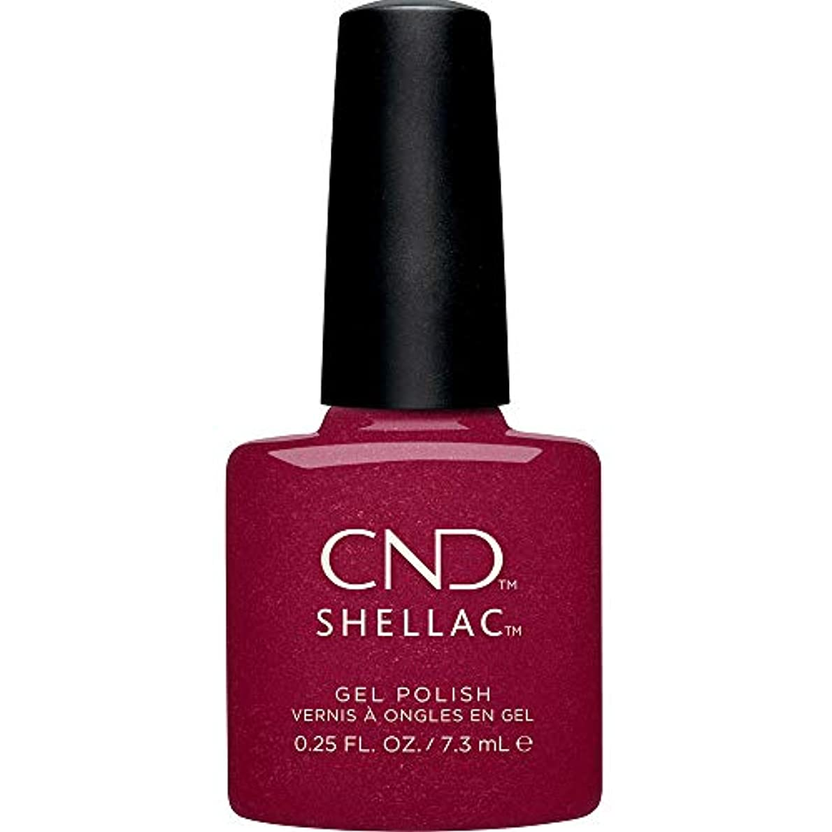 後継正しく市区町村CND Shellac - Crystal Alchemy Winter 2019 Collection - Rebellious Ruby - 0.25oz / 7.3ml