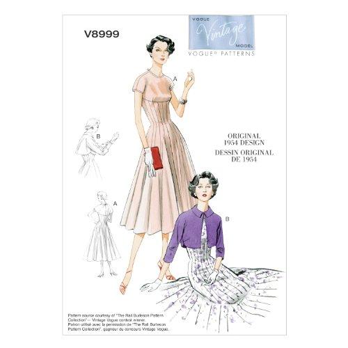 【vogue patterns】ヴィンテージ 50年代デザイ...