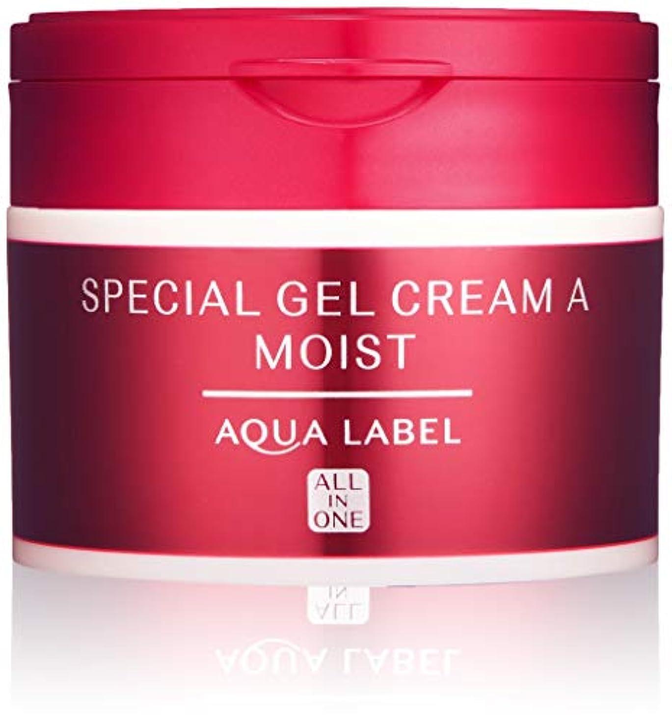 震える回転シードAQUALABEL(アクアレーベル) アクアレーベル スペシャルジェルクリームA (モイスト) ハーバルローズの優しい香り 単品 90g