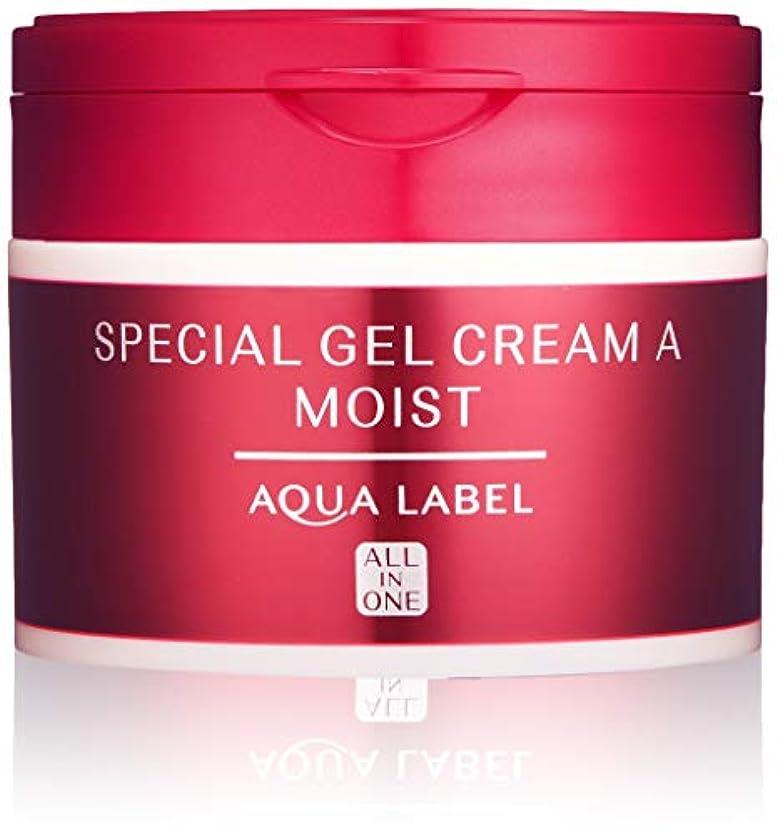 マイクキャプション等しいAQUALABEL(アクアレーベル) アクアレーベル スペシャルジェルクリームA (モイスト) ハーバルローズの優しい香り 単品 90g