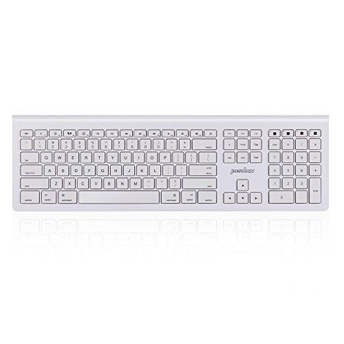 ぺリックス PERIBOARD-806 Bluetooth ワイヤレス キーボード マルチデバイス対応 : MacBook Pro/MacBook Air/iMac/Mac Pro/iOS Devices ホワイト 【正規保証品】