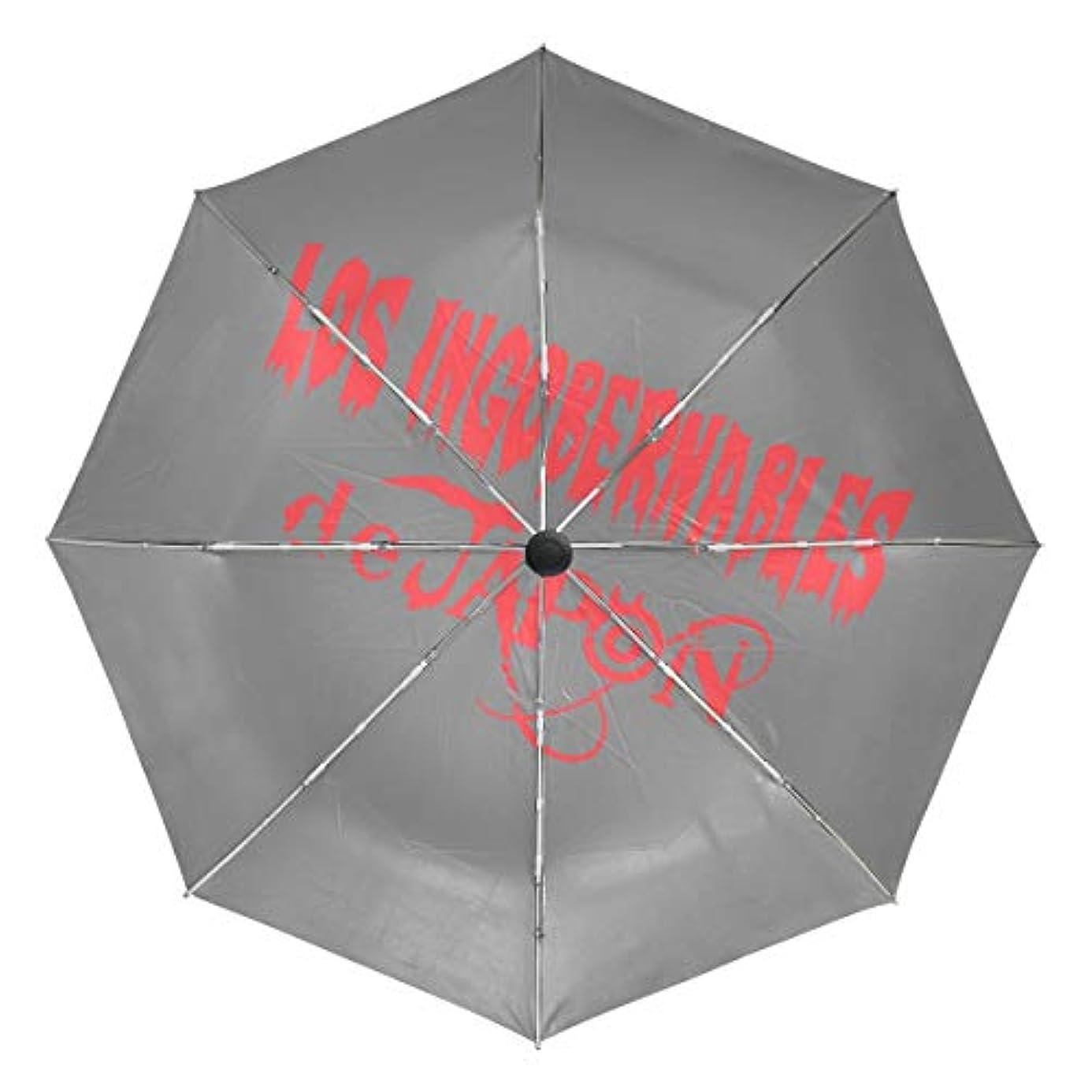 方程式火星接地傘 自動傘 丈夫 台風対策 雨傘 日傘 ロスインゴベルナブレスデハポン 三つ折り傘 日よけ傘 日焼け止め 折りたたみ傘 UVカット 紫外線カット 自動開閉 晴雨兼用 梅雨対策