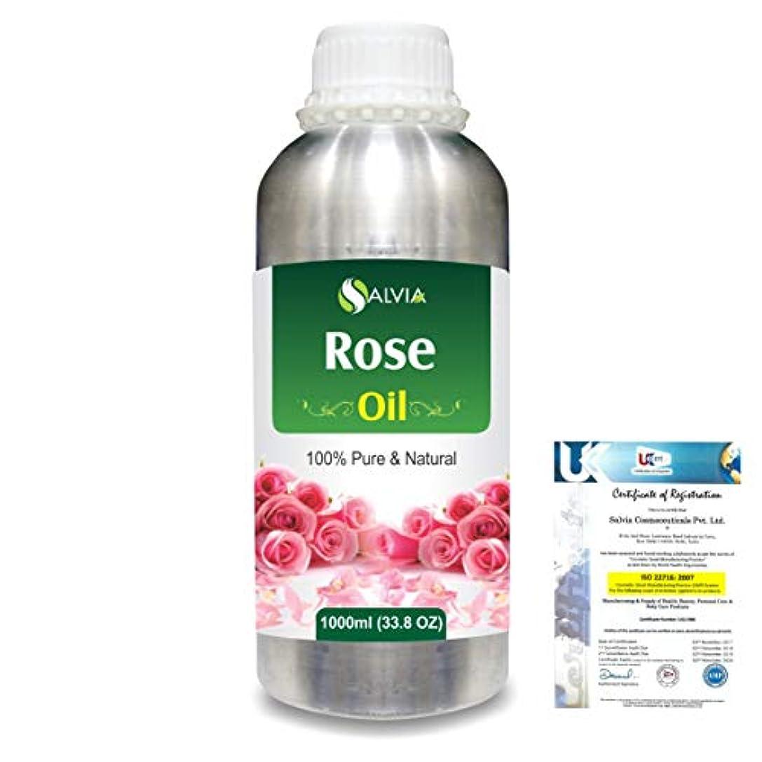 腐敗した新鮮な広告するRose (Rosa Damacenia) 100% Natural Pure Essential Oil 1000ml/33.8fl.oz.
