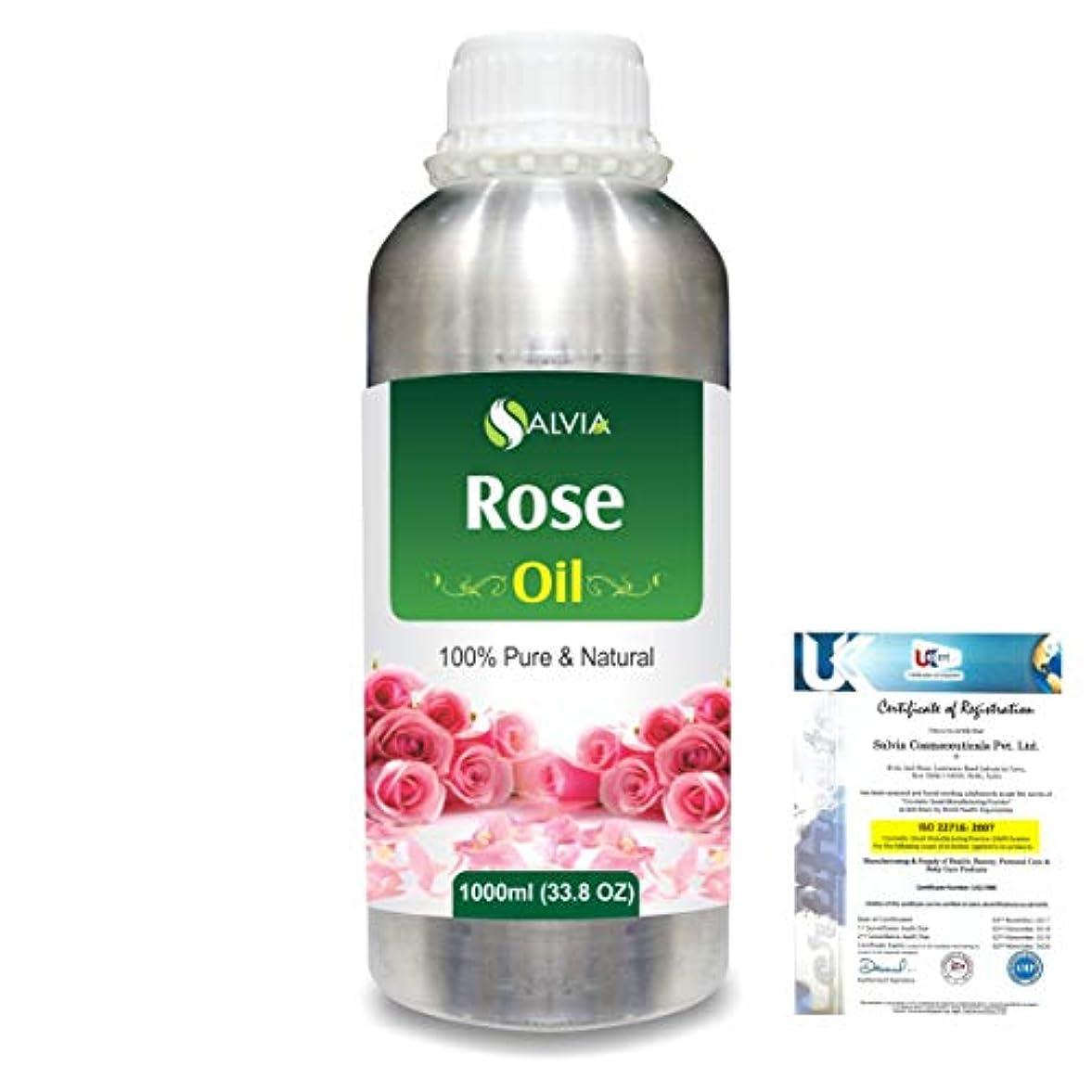 Rose (Rosa Damacenia) 100% Natural Pure Essential Oil 1000ml/33.8fl.oz.