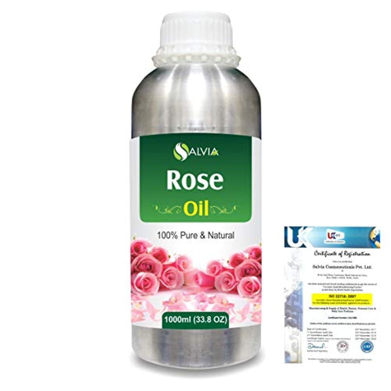 チャート膿瘍折り目Rose (Rosa Damacenia) 100% Natural Pure Essential Oil 1000ml/33.8fl.oz.