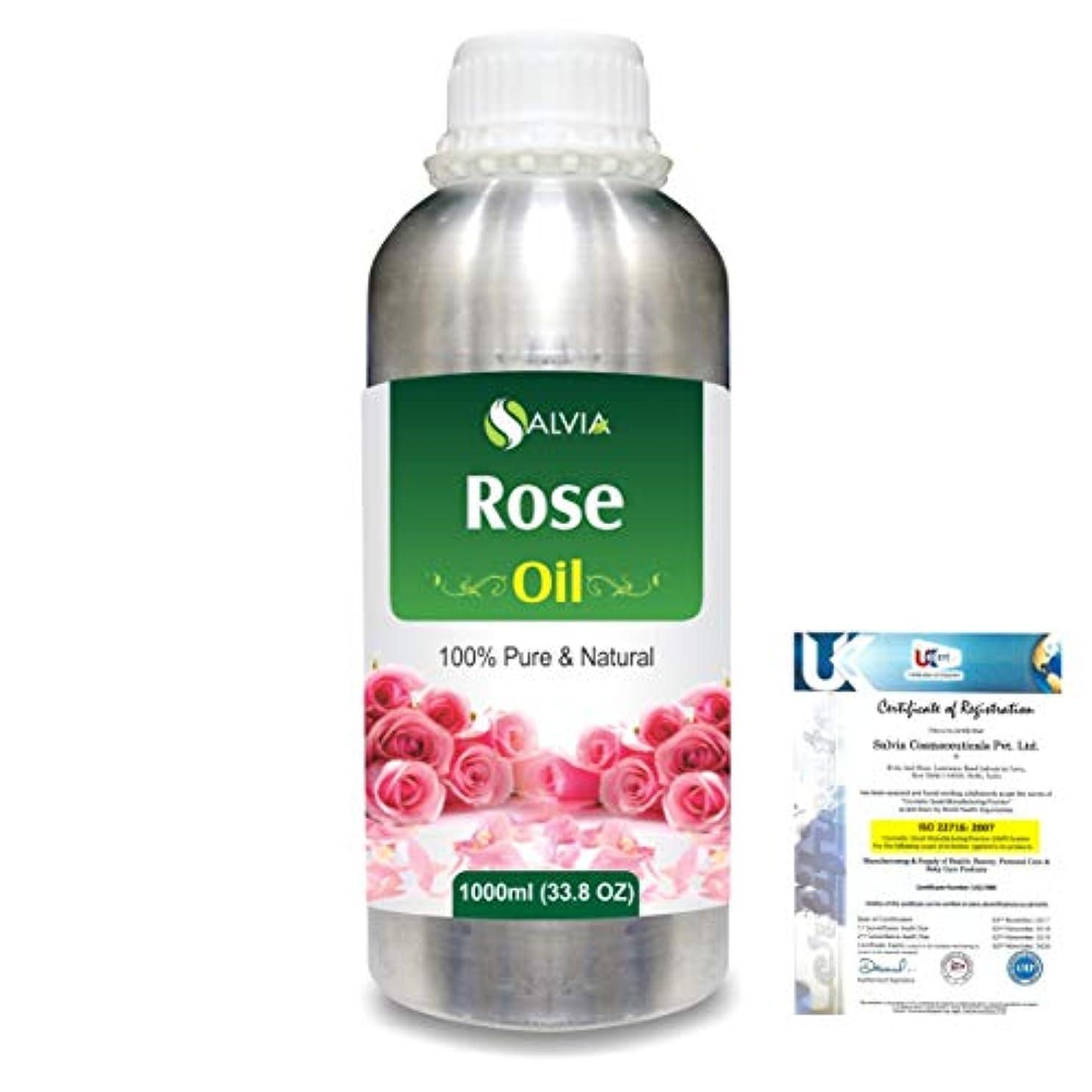 拍手逆説よく話されるRose (Rosa Damacenia) 100% Natural Pure Essential Oil 1000ml/33.8fl.oz.