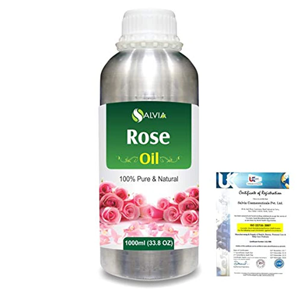 故障中病気咲くRose (Rosa Damacenia) 100% Natural Pure Essential Oil 1000ml/33.8fl.oz.
