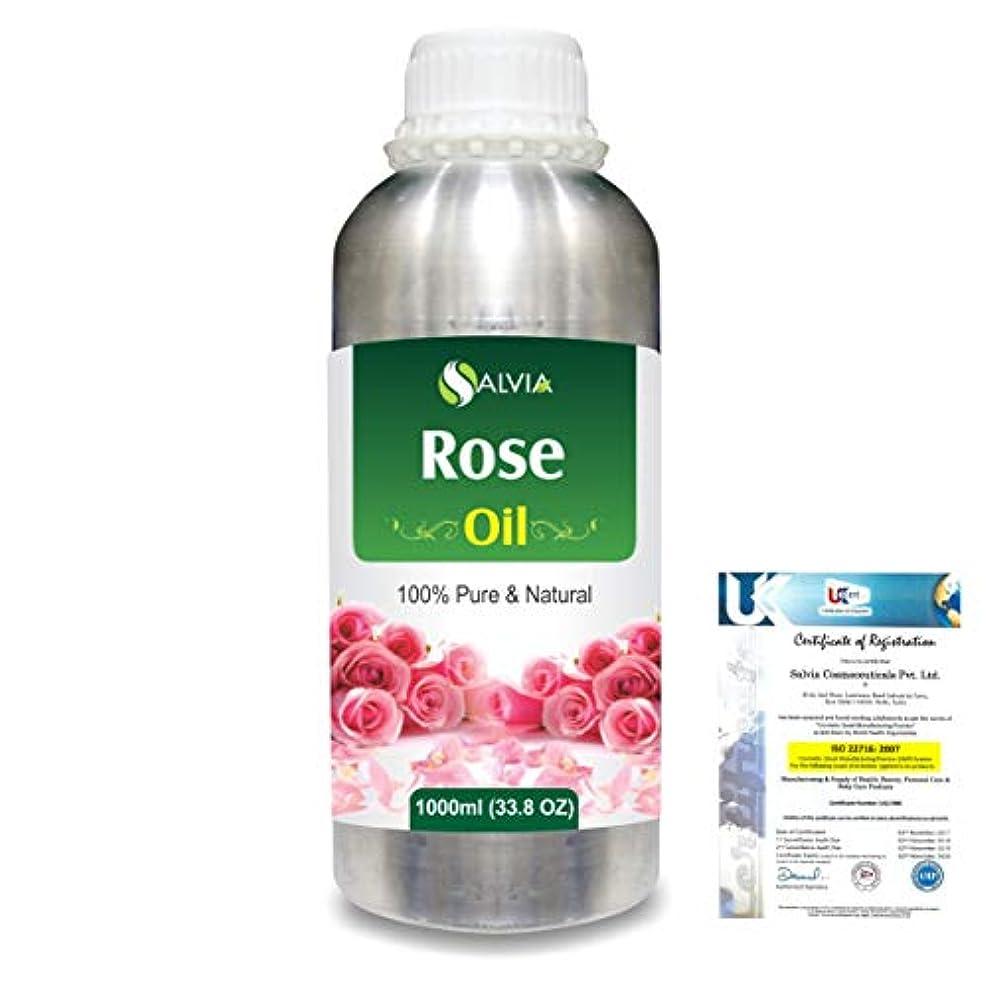 鍔多数の消化Rose (Rosa Damacenia) 100% Natural Pure Essential Oil 1000ml/33.8fl.oz.