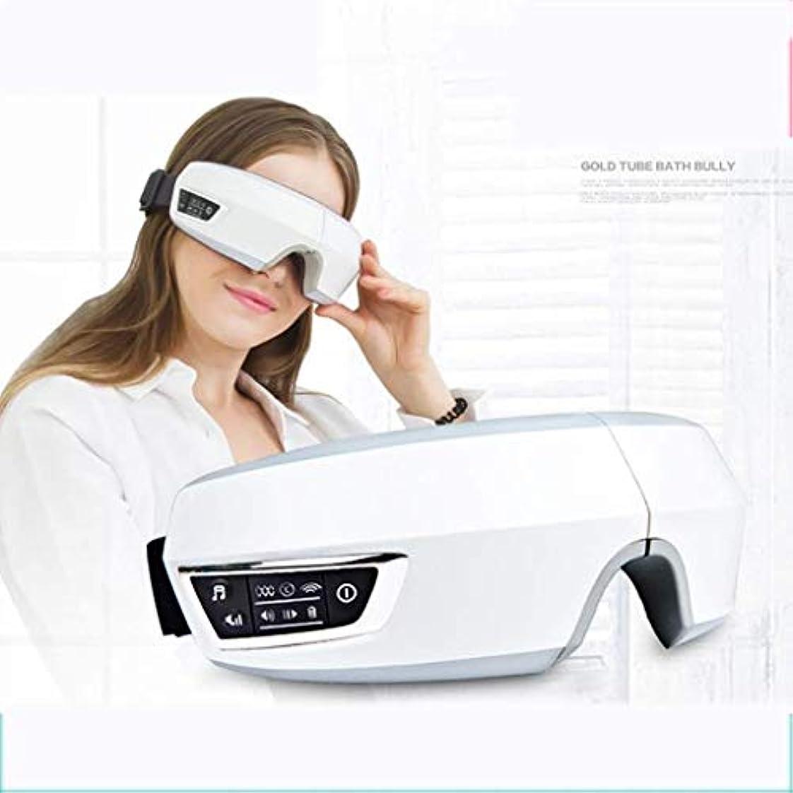 悪い酸化する玉USB充電アイマッサージャー、アイケアアイマッサージ器具、ホットコンプレス、ダークアイビューティー器具の改善、視力保護アイピース、疲労軽減
