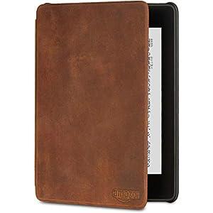Amazon Kindle Paperwhite (第10世代) 用 プレミアムレザーカバー