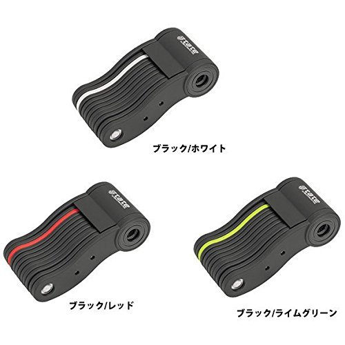 (TATE/タテ)(自転車用鍵/ロック)フォールディング ロック II ブラック/ホワイト