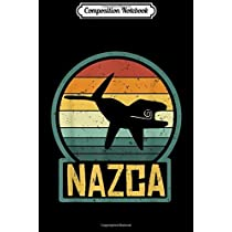 Composition Notebook: Nazca Lines Killer Whale Alien UFO Ancient Peru Archeology  Journal/Notebook Blank Lined Ruled 6x9 100 Pages