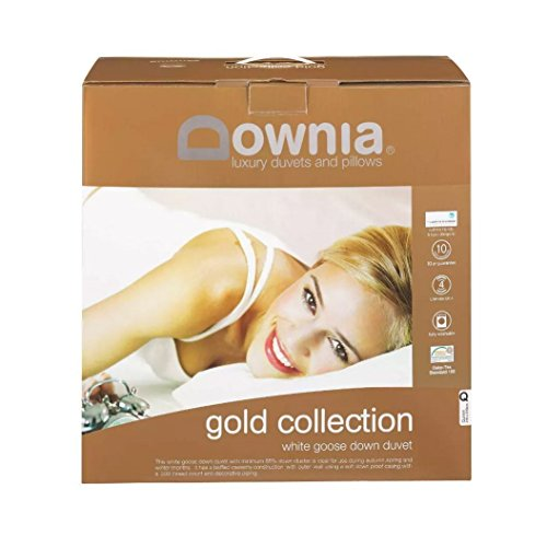 Downia Gold Collection Goose Down and Feather Quilt/Doona/Duvet (Queen)