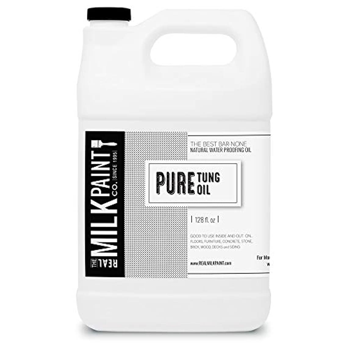 野ウサギターゲット透過性RealミルクペイントPure Tungオイル Gallon