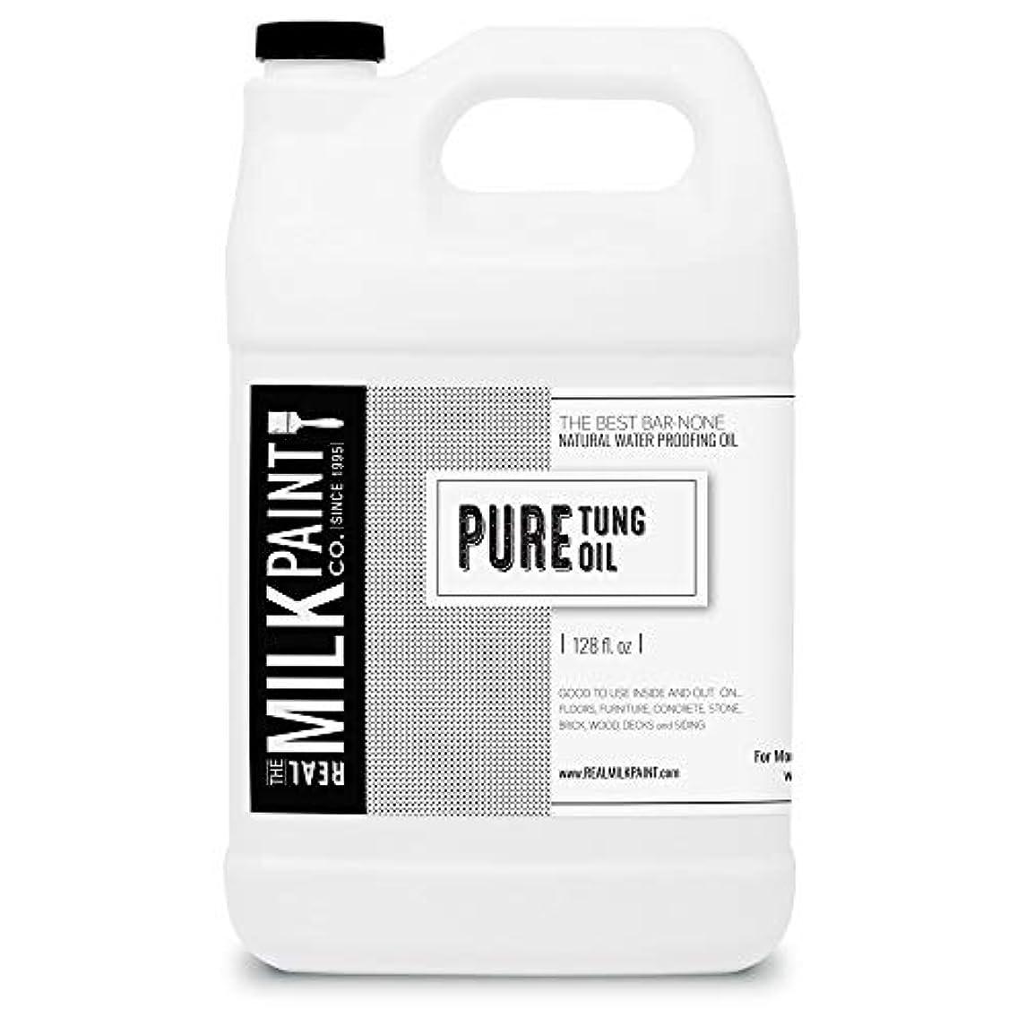 キリン円形負RealミルクペイントPure Tungオイル Gallon