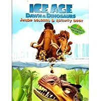 Ice Age Dawn of the Dinosaurs Jumbo Coloring & Activity Book with Bookmarks (96 Pages) by Ice Age [並行輸入品]