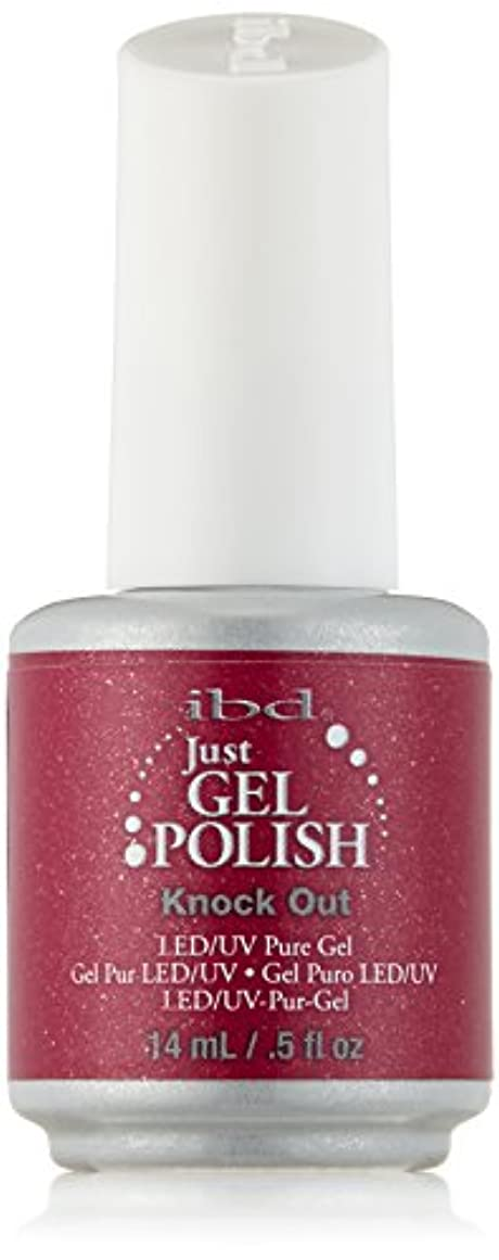 守銭奴分布カスタムIBD Just Gel Polish - Knock Out - 0.5oz / 14ml