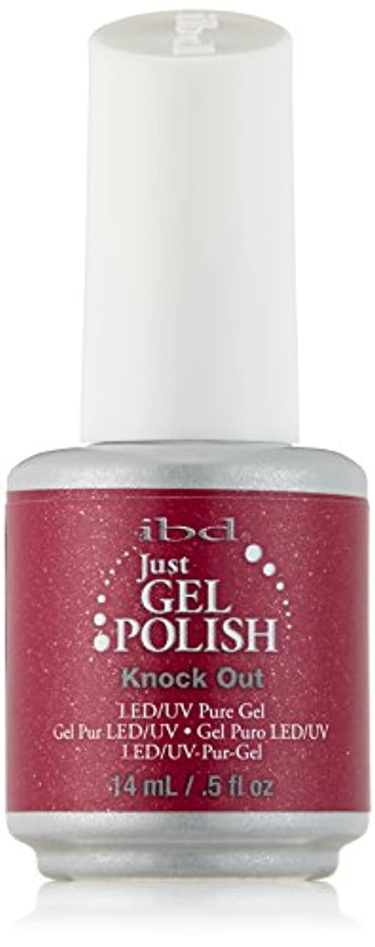 吸収する学士風景IBD Just Gel Polish - Knock Out - 0.5oz / 14ml