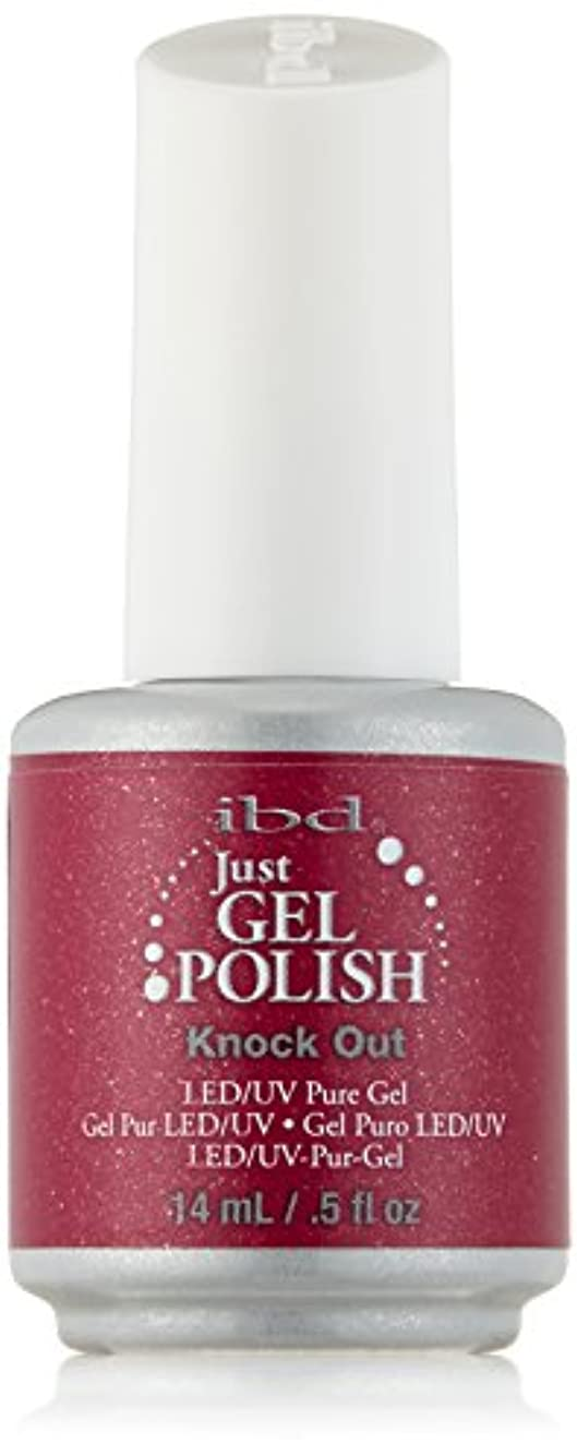 建物オーバードロー評価IBD Just Gel Polish - Knock Out - 0.5oz / 14ml