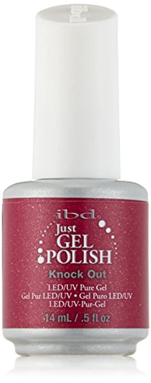 ラジエーター形移民IBD Just Gel Polish - Knock Out - 0.5oz / 14ml