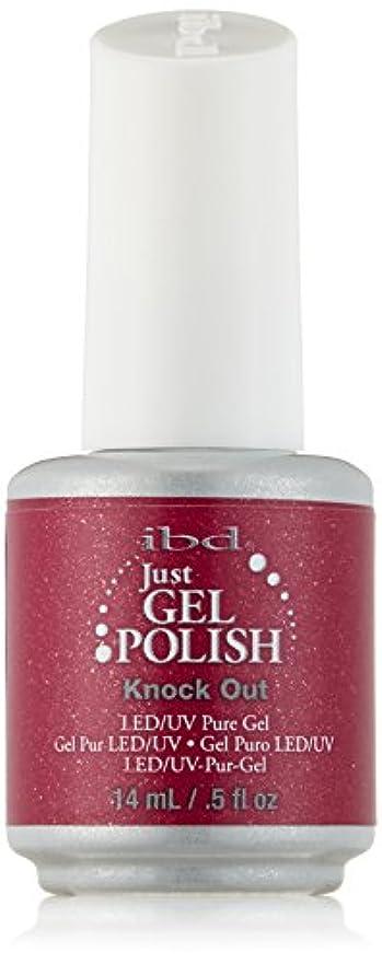 鉱夫リーズ教授IBD Just Gel Polish - Knock Out - 0.5oz / 14ml