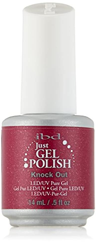 近傍惑星透けて見えるIBD Just Gel Polish - Knock Out - 0.5oz / 14ml
