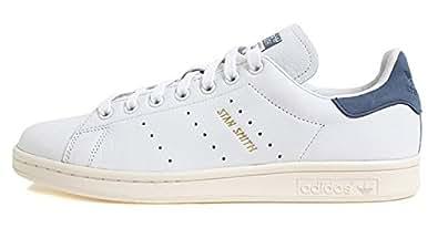 [アディダス] Adidas Stan Smith S80026 スタンスミス (22.5cm, ホワイト/ネイビー) [並行輸入品]