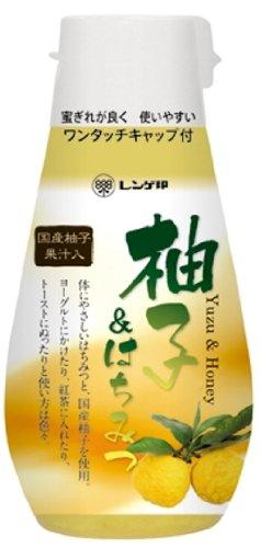 レンゲ印 柚子&はちみつ ポリ 245g