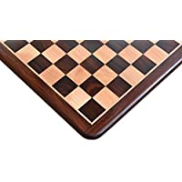 ノーブランド チェス盤 シタン×ツゲ 43cm 45mm