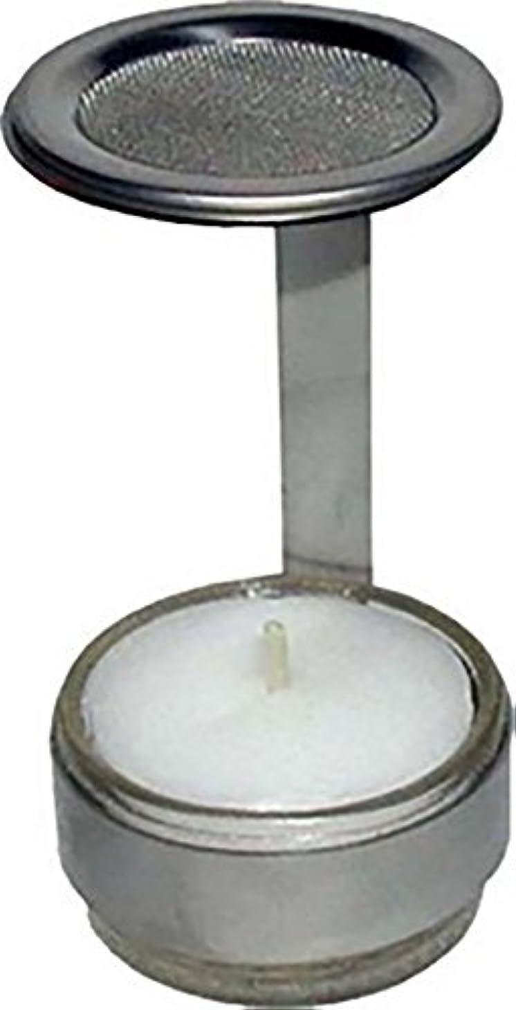 切手法令雇用者キャンドルホルダーステンレススチールと香炉
