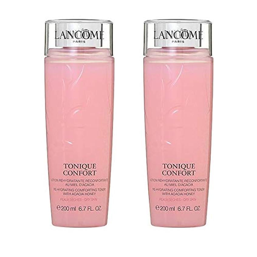 【セット】ランコム LANCOME トニック コンフォート(化粧水) 200mL 2個セット [並行輸入品]