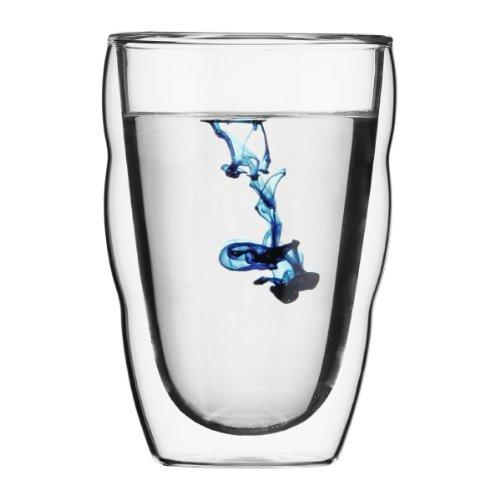 【正規品】 BODUM ボダム PILATUS ダブルウォールグラス 350ml (2個セット) 10485-10J