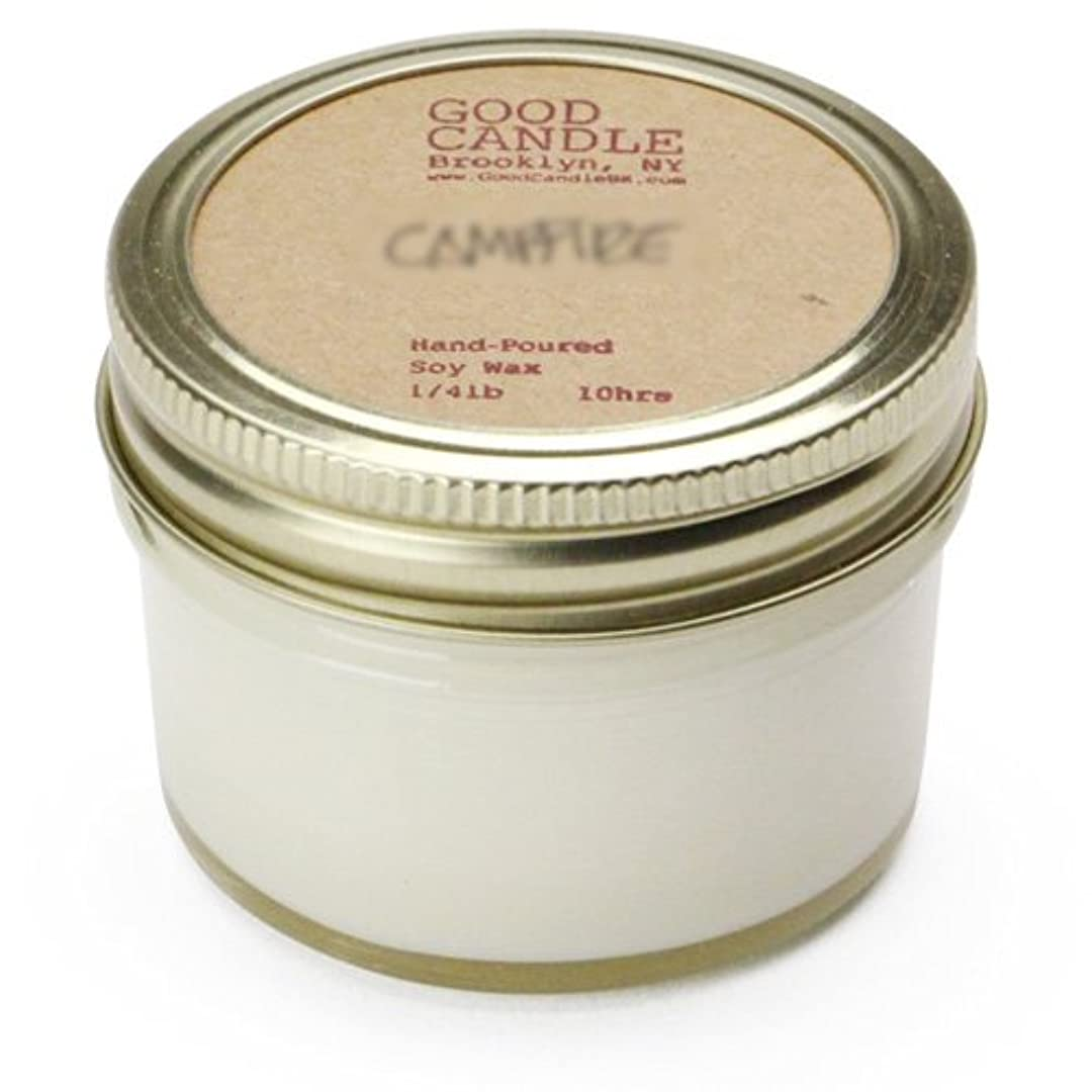 ジョブ氷新しい意味グッドキャンドル 1/4ポンド ゼリージャー キャンドル Good Candle 1/4LB Jelly jar candle [ Mimosa ] 正規品