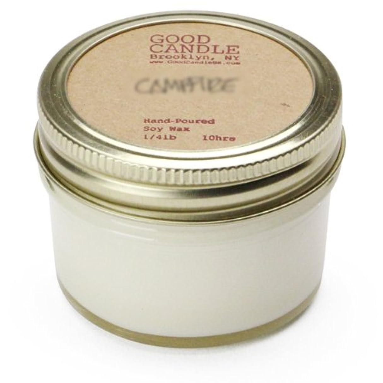 熱心な句サラミグッドキャンドル 1/4ポンド ゼリージャー キャンドル Good Candle 1/4LB Jelly jar candle [ Rose ] 正規品