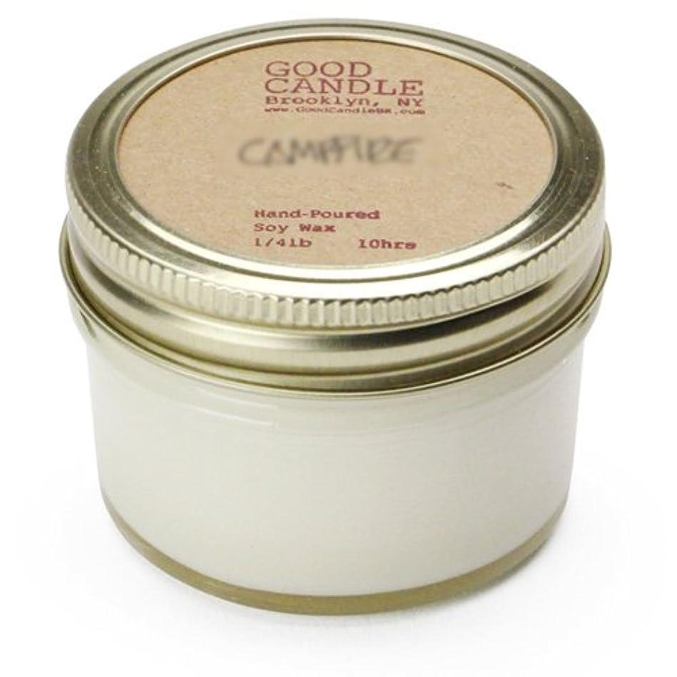 ヘルシーばかげたチョークグッドキャンドル 1/4ポンド ゼリージャー キャンドル Good Candle 1/4LB Jelly jar candle [ Camp fire ] 正規品
