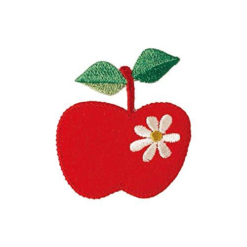 KIYOHARA プティデポーム アップリケワッペン リンゴ...