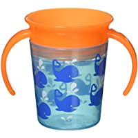 Miracle? 360 Deco Trainer Cup - 6oz (Blue Whale) by Munchkin