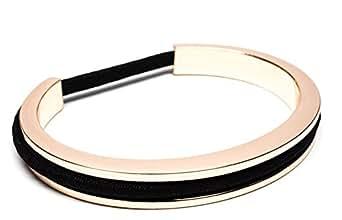 ヘアーゴムがつけられるブレスレットbittersweet CLASSIC (L, ローズゴールド)